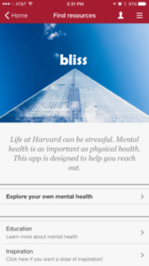 Harvard_Bliss_App