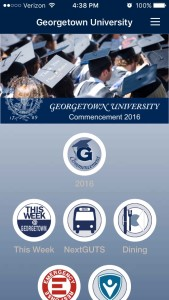 Georgetown Commencement