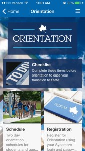 Indiana State University Orientation Home