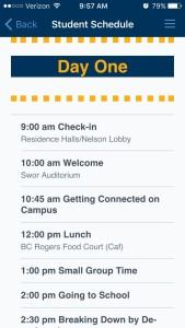 Mississippi College Orientation Schedule