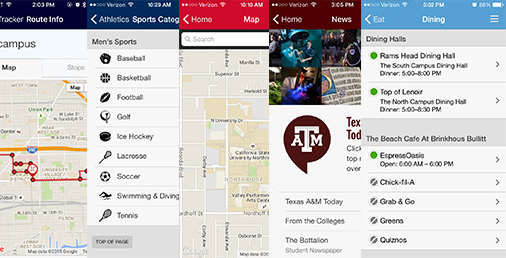 What are the top modules in campus apps and who's leading the charge? // Survey Results