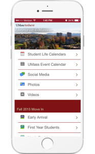 Umass App Enhancing Move In Orientation And Student Life