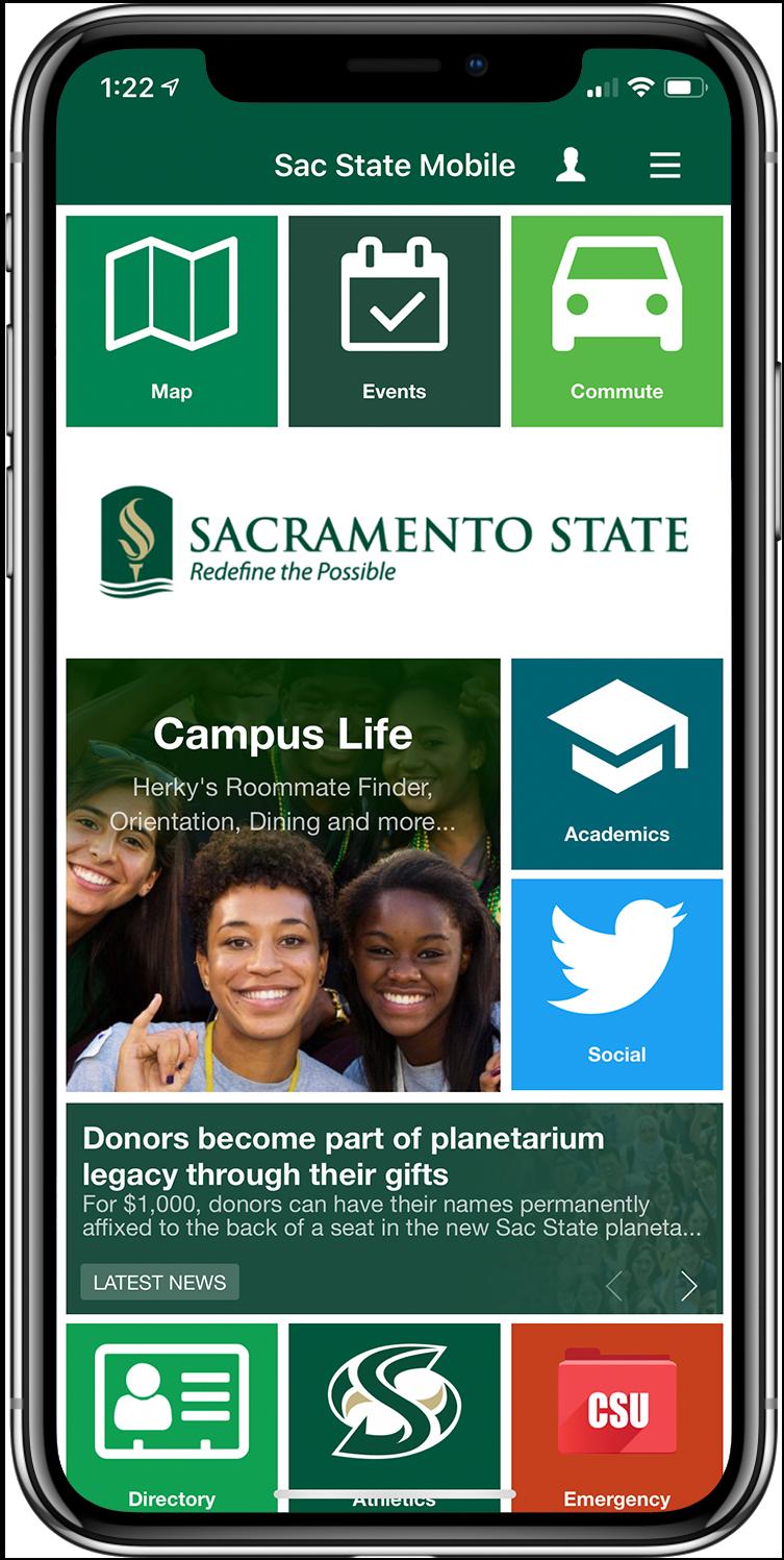 Sacramento State screen snapshot