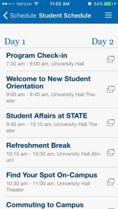 Indiana State University Orientation Schedule