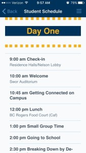 Mississippi College Orientation Schedule