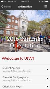University of the Incarnate Word Orientation Home
